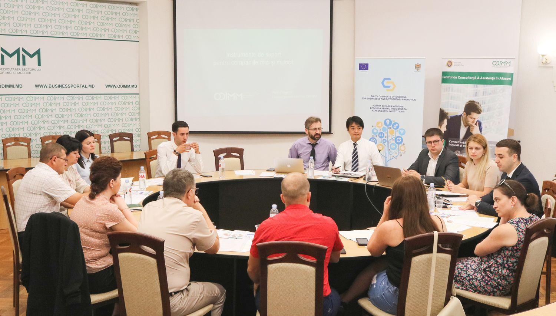 Servicii de consultanță standardizate în afaceri accesibile în sudul țării