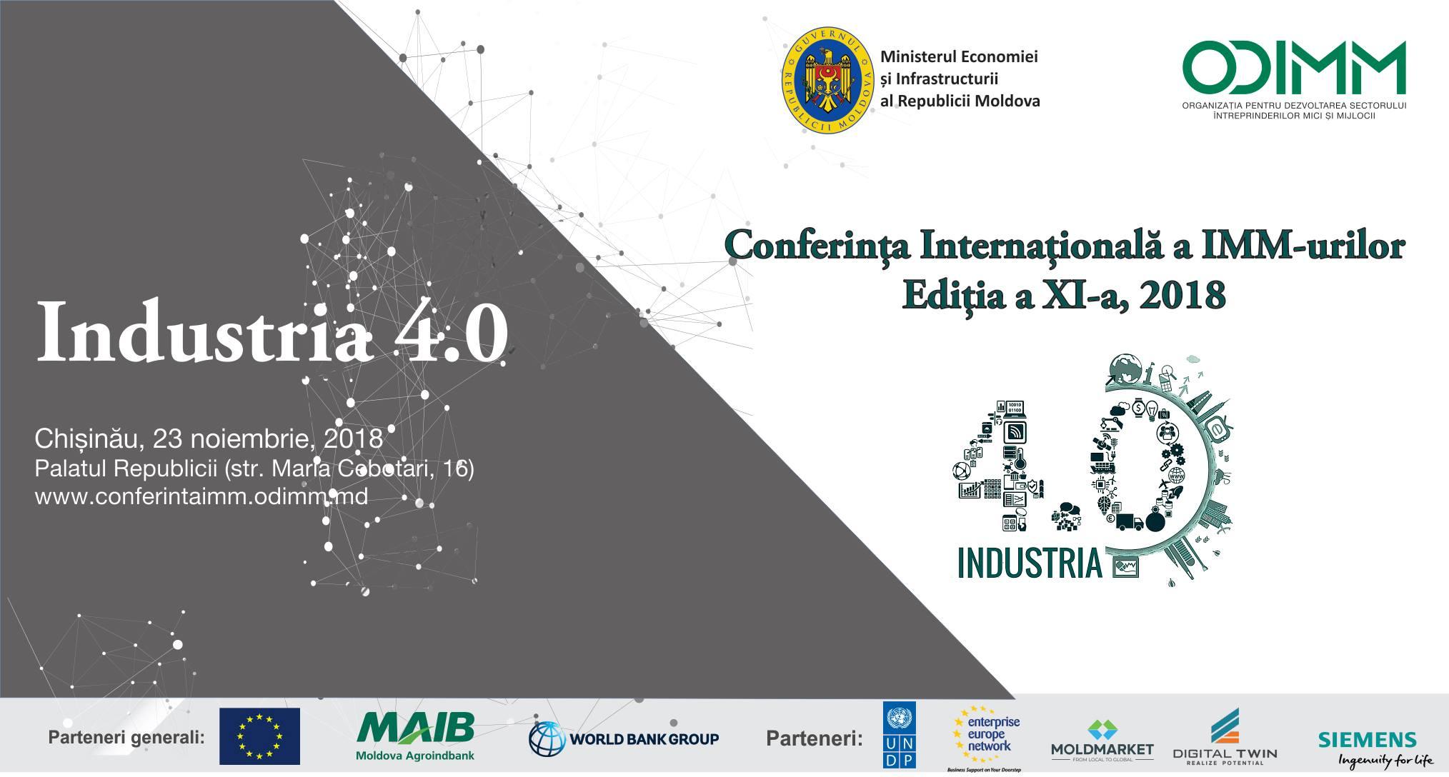 Conferința Internațională a IMM-urilor, la cea de-a XI-a ediție
