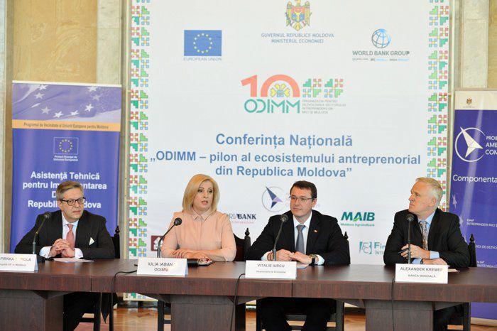 ODIMM reprezintă pilonul ecosistemului  antreprenorial din Republica Moldova