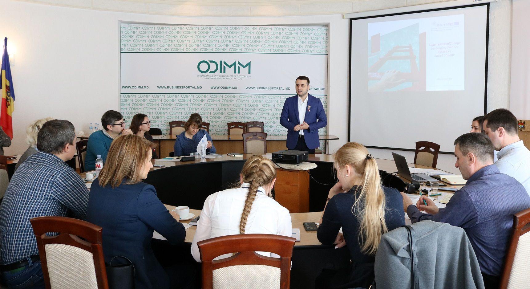 Antreprenoriatul social – un nou subiect în vizorul ODIMM