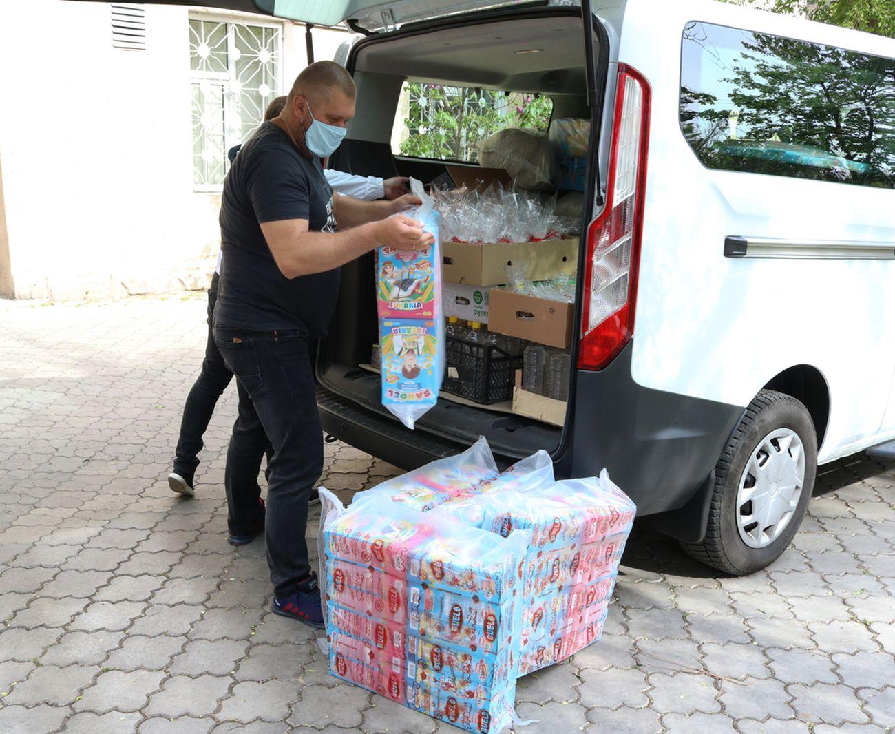 Producătorii autohtoni donează produse spitalelor
