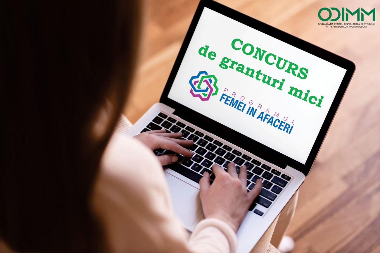 Over 150 women entrepreneurs registered for the Small Grants Contest