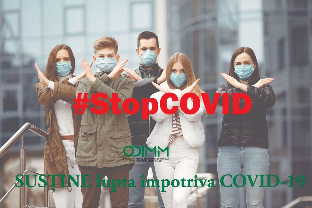 Echipa ODIMM, solidară în lupta cu COVID-19