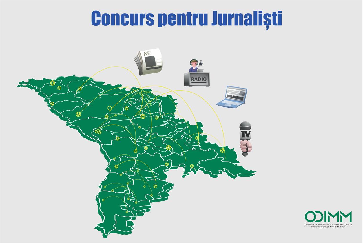 Concurs pentru jurnaliști
