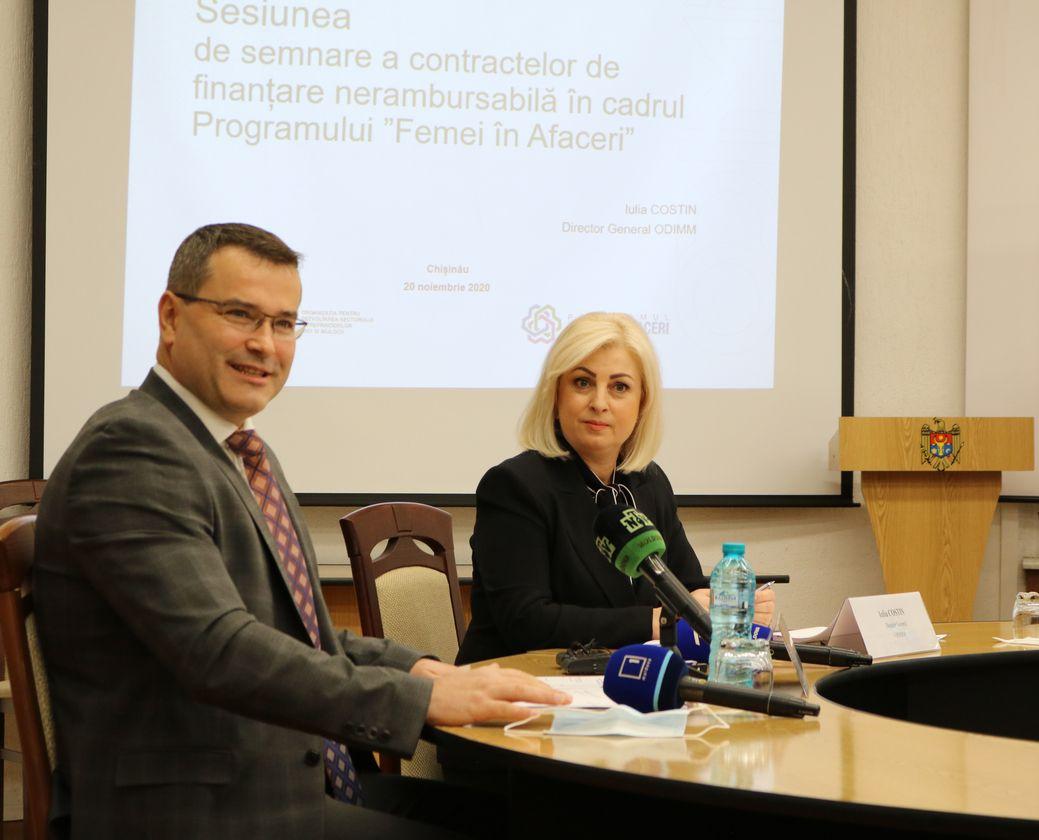 ODIMM ajută  femeile în afaceri din Moldova să își exporte produsele