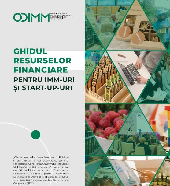 A fost lansat ghidul resurselor financiare pentru ÎMM-uri și start-up-uri