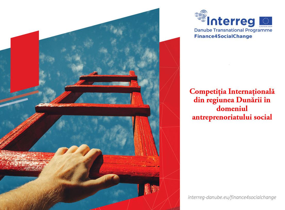 Concurs internațional din regiunea Dunării în domeniul antreprenoriatului social