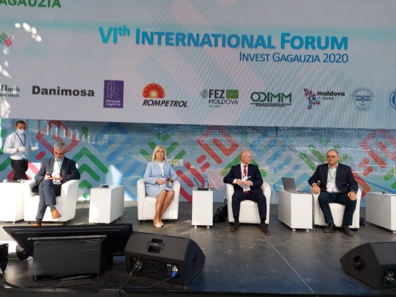 ODIMM, partener al Forumului economic regional– Invest Găgăuzia 2020