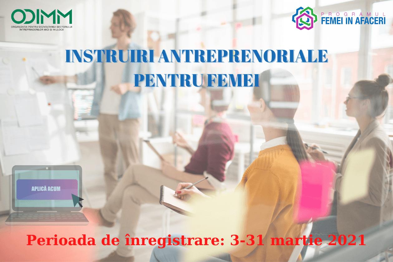 ODIMM încurajează femeile din Republica Moldova să devină antreprenoare