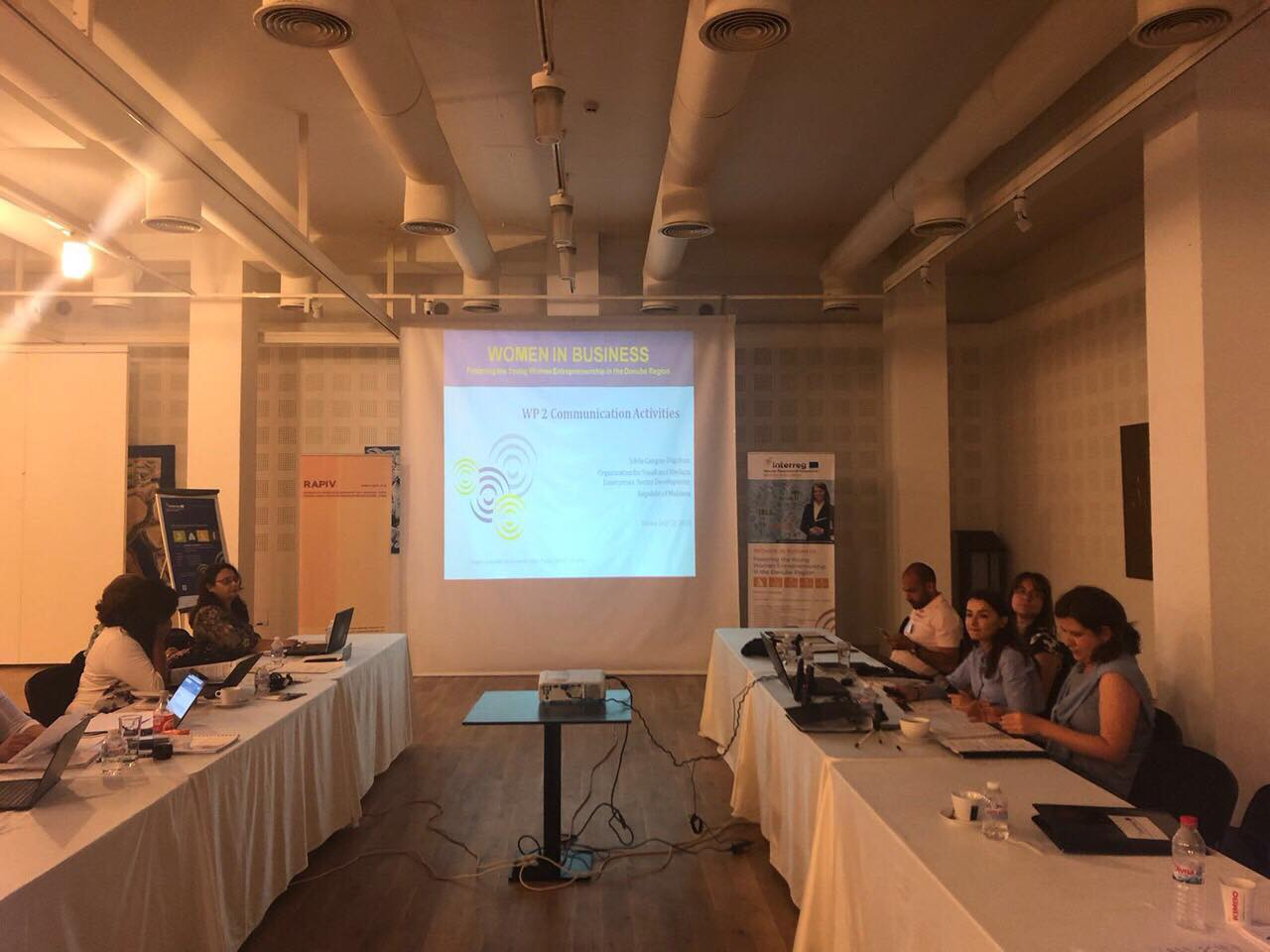 WOMEN IN BUSINESS -  un nou proiect pentru femei, lansat în cadrul Programului Transnațional Dunărea