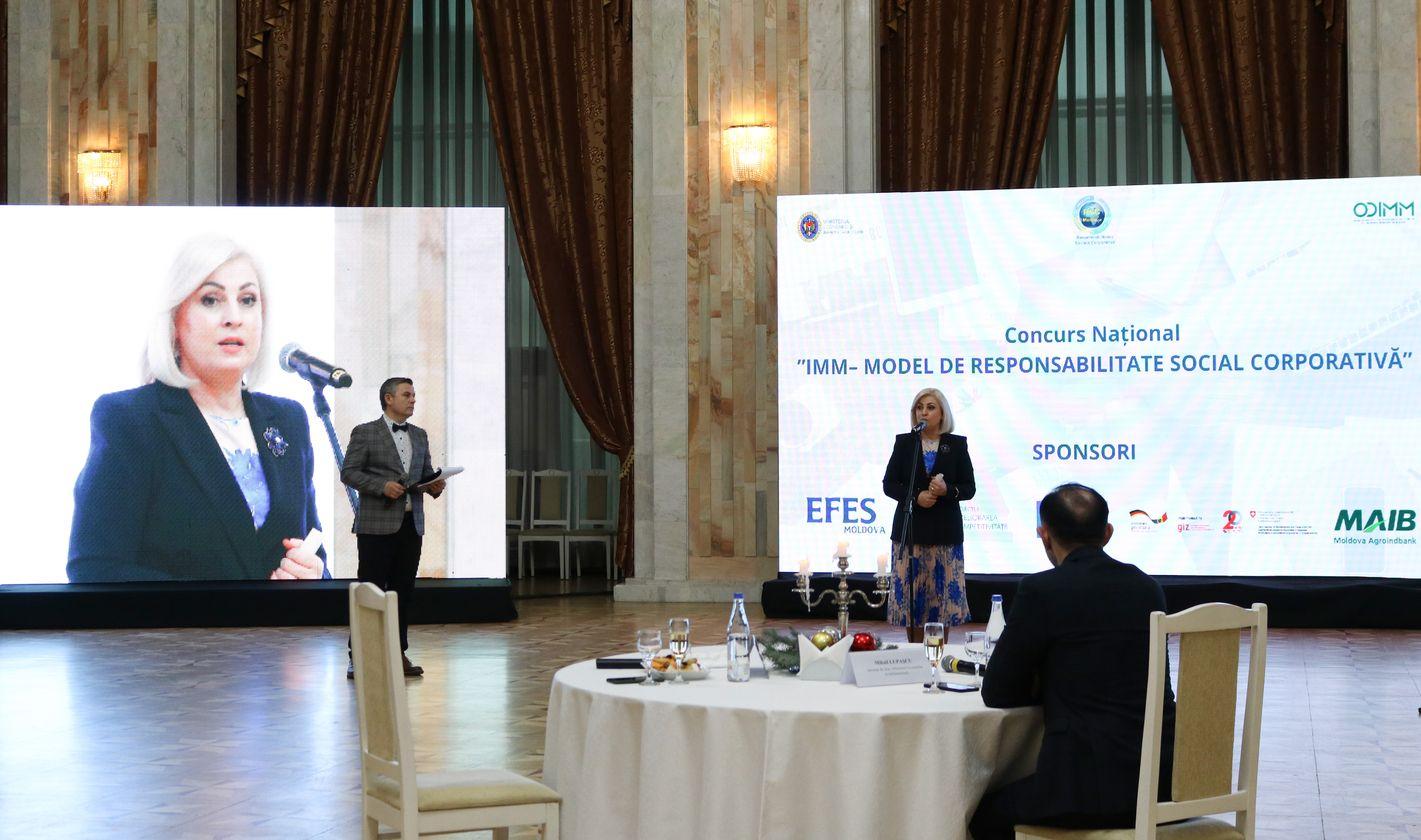 """ODIMM a premiat câștigătorii Concursului Național ,,IMM – Model de Responsabilitate Social-Corporativă"""""""