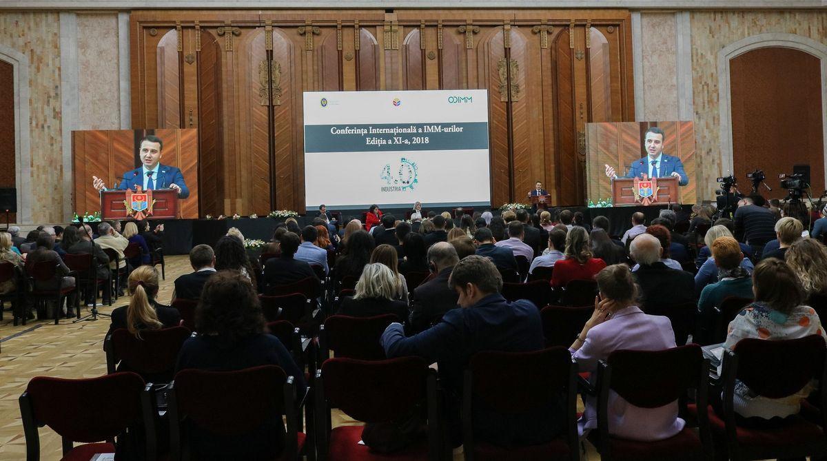 Evenimentul anului pentru antreprenori:  Conferința Internațională a IMM-urilor, 2018