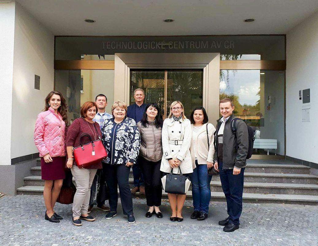 ODIMM изучает опыт чешского предпринимательства