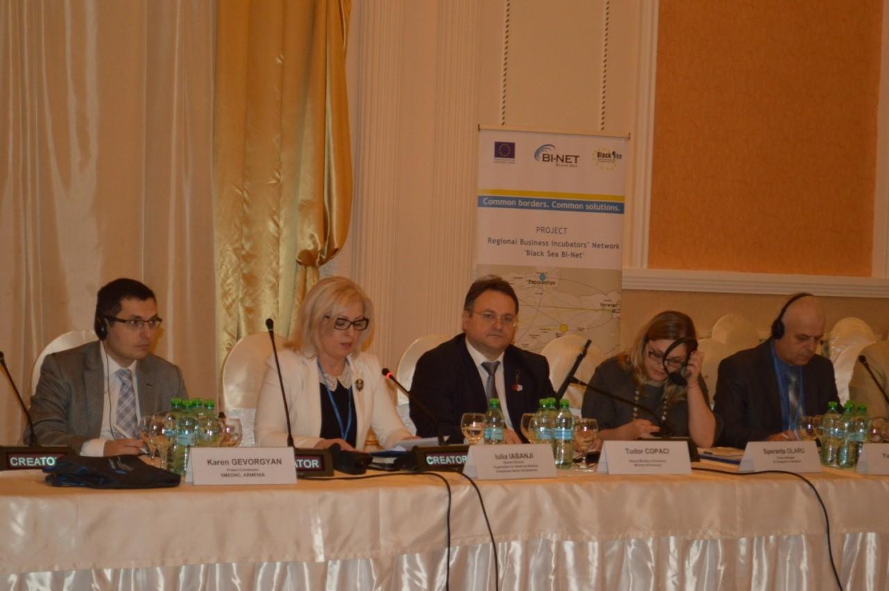 """Proiectul  """"Black Sea BI-Net"""" –  un pas înainte spre internaționalizarea ÎMM-urilor din Republica Moldova"""