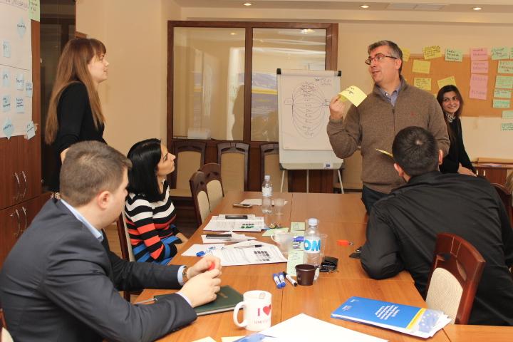 Colaboratorii ODIMM- instruiți în elaborarea propunerilor de proiect pentru granturile UE