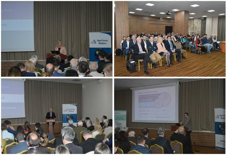 Idei inovative prezentate în cadrul celui de-al treilea SEED FORUM Moldova